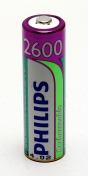 Philips Multilife NiMH Akku AA