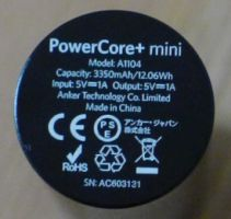 Anker Powercore+ Mini - Unterseite