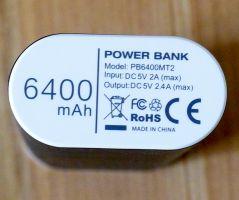 EasyAcc PB6400MT2 - Unterseite