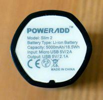 Poweradd Slim 2 - Unterseite